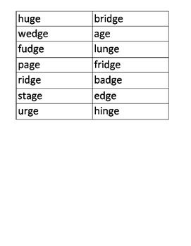 Spelling Makes Sense - Huge Bar of Fudge Rule