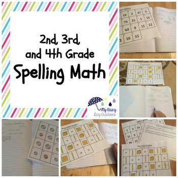 Spelling Math Sheets