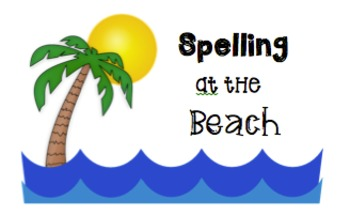 Spelling, Math, and Reading at the Beach