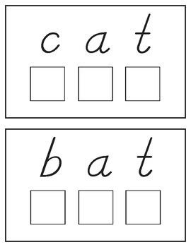 Spelling Mats