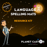 Spelling Mats Kit | Quick Access to Common Word Banks | Gr