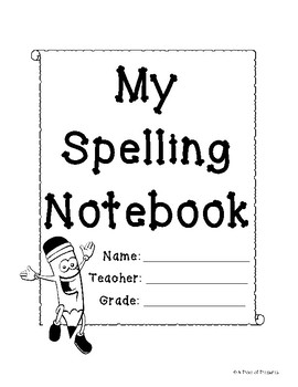 Spelling Menu Pack - With Over 50 Spelling Activities!