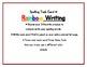 Spelling Menu Task Cards - Upper Elementary