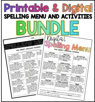 Spelling Menu and Templates