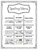 Spelling Menu for Word Works