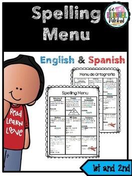Spelling Menu in Spanish