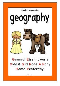 Spelling Mnemonics