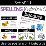 Spelling Mnemonics Posters