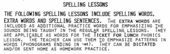 Spelling – Most Common Writing Words Grades 1-3