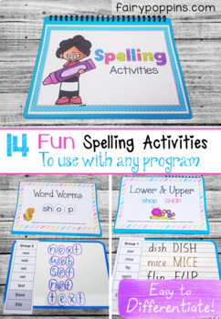 Spelling Activities For Any Program (NO PREP)