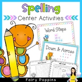 Spelling Center Activities For Any Program (NO PREP)