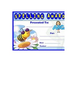 Spelling Notebook
