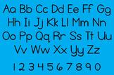 Spelling Notebook Font