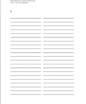 Spelling Notebook for High-Frequency Words