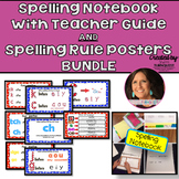 OG Inspired Spelling Notebook {Editable} /Teacher Guide w/Spelling Rule Posters