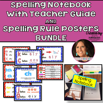 OG Inspired Spelling Notebook {Editable} /Teacher Guide w/