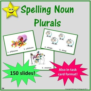 Noun Plurals Review and Test Prep