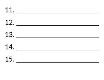 Spelling Numbers Board