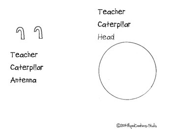 Spelling Numbers Caterpillar 1-10
