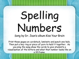 Spelling Numbers song by Dr. Jean