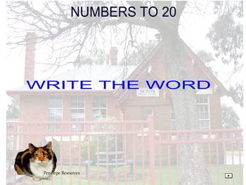 Spelling Numbers up to 20
