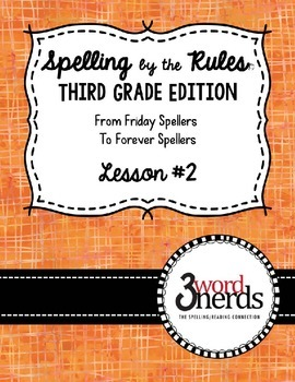 Spelling - Open Syllable/Long Vowel Sounds - Third Grade