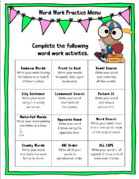 Spelling Pack