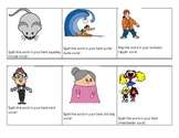 Spelling Packet Activities and Game Ideas
