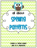 Spelling Pattern Game & Practice Sheets