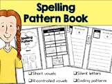 Spelling Pattern Mini-Book (includes short vowels, r-contr
