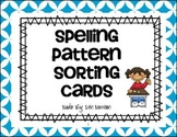 Spelling Pattern Sorting Cards