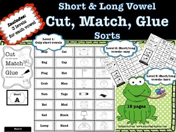 Spelling Pattern Sorts (Short Vowels and Long Vowels)