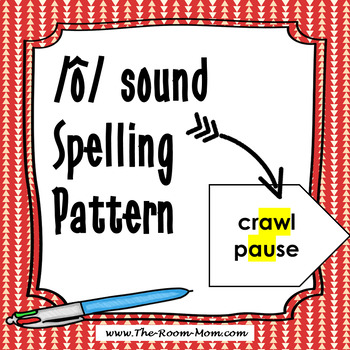 AW, AU Spelling Pattern