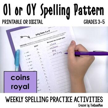 OI, OY Spelling Pattern