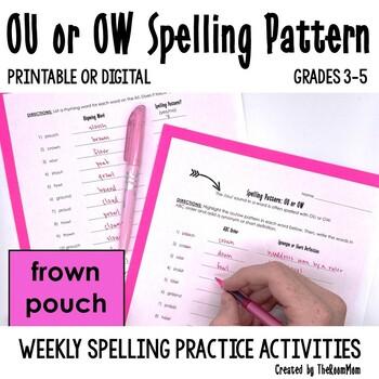 OU, OW Spelling Pattern
