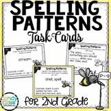 Spelling Patterns Task Cards - 2nd Grade Grammar Activity