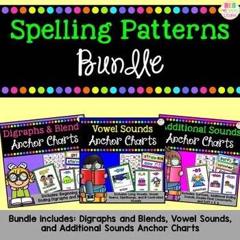 Spelling Patterns Anchor Charts - Bundle