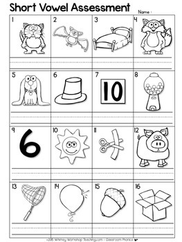 Spelling Patterns Assessment FREE - Whimsy Workshop Teaching