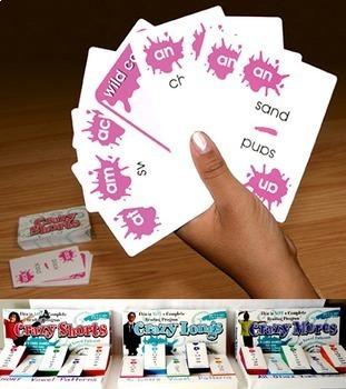 "Crazy Cards! (""Short a"" Deck)"