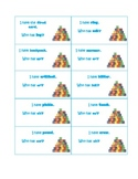 Spelling Patterns I Have Who Has