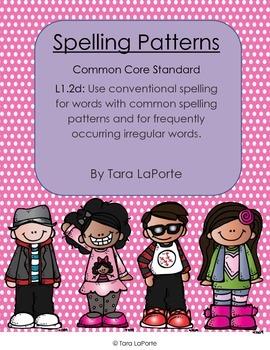 Spelling Patterns L1.2d