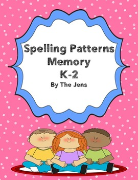 Spelling Patterns Memory K-2 ***BUNDLE***