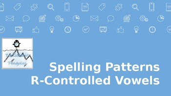 Spelling Patterns R-Controlled Vowels