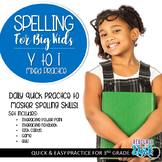 Spelling Patterns for Big Kids: Spelling Y to I (adding s