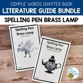 Spelling Pen Brass Lamp Literature Guide Simple Words Book