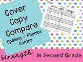 Spelling / Phonics Center :  Cover, Copy, Compare