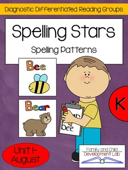Spelling Phonics Patterns: Differentiated Guided Reading Centers Kindergarten