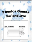 Spelling Phonics /au/ /aw/