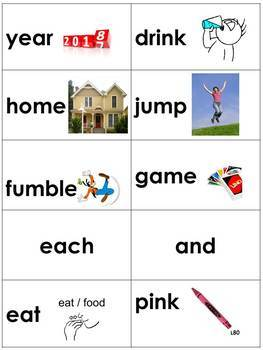 Spelling Picture Cards Saxon Phonics Set#3