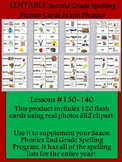 Spelling Picture Cards Saxon Phonics Set#5